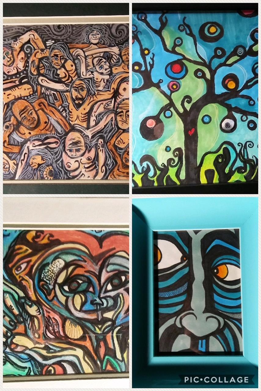 Michael M drawings